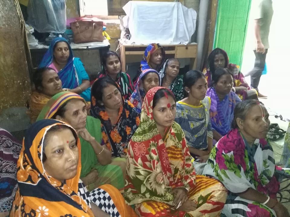 Promoting Gender Sensitive Panchayet প্রকল্পের কার্যক্রম বাস্তবায়ন এলাকা লালবাগ পরিদর্শনে (29/10/2017) আসেন তানজিলা কবির ত্রপা, সহকারী কমিশনার, এনজিও বিষয়ক শাখা, জেলা প্রশাসকের কার্যালয়, ঢাকা