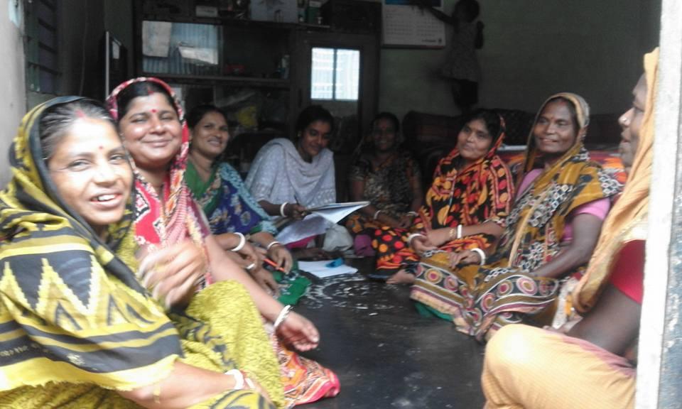 Community Facilitator Dulali Rani Das facilitated monthly Shadow Meeting at Baburail rishipara